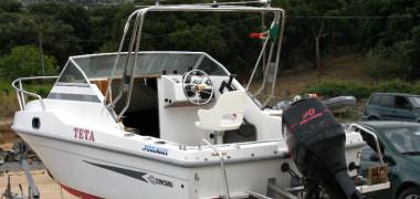 Barca Polmare Concord pilotina motore 90 hp
